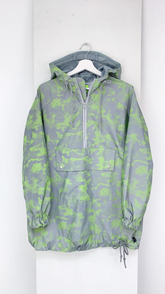 Jacke aus Reflektorstoff von Hemmers Itex