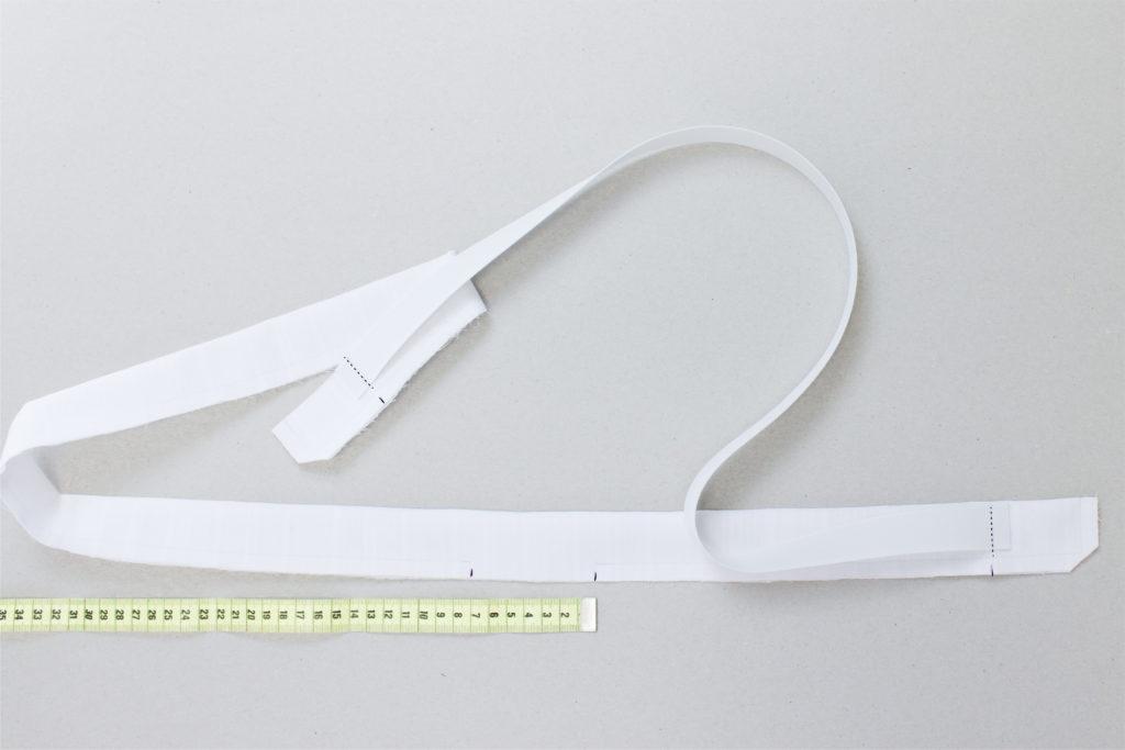 Nähanleitung Stoffgürtel