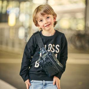 Tasche für Jungs nähen
