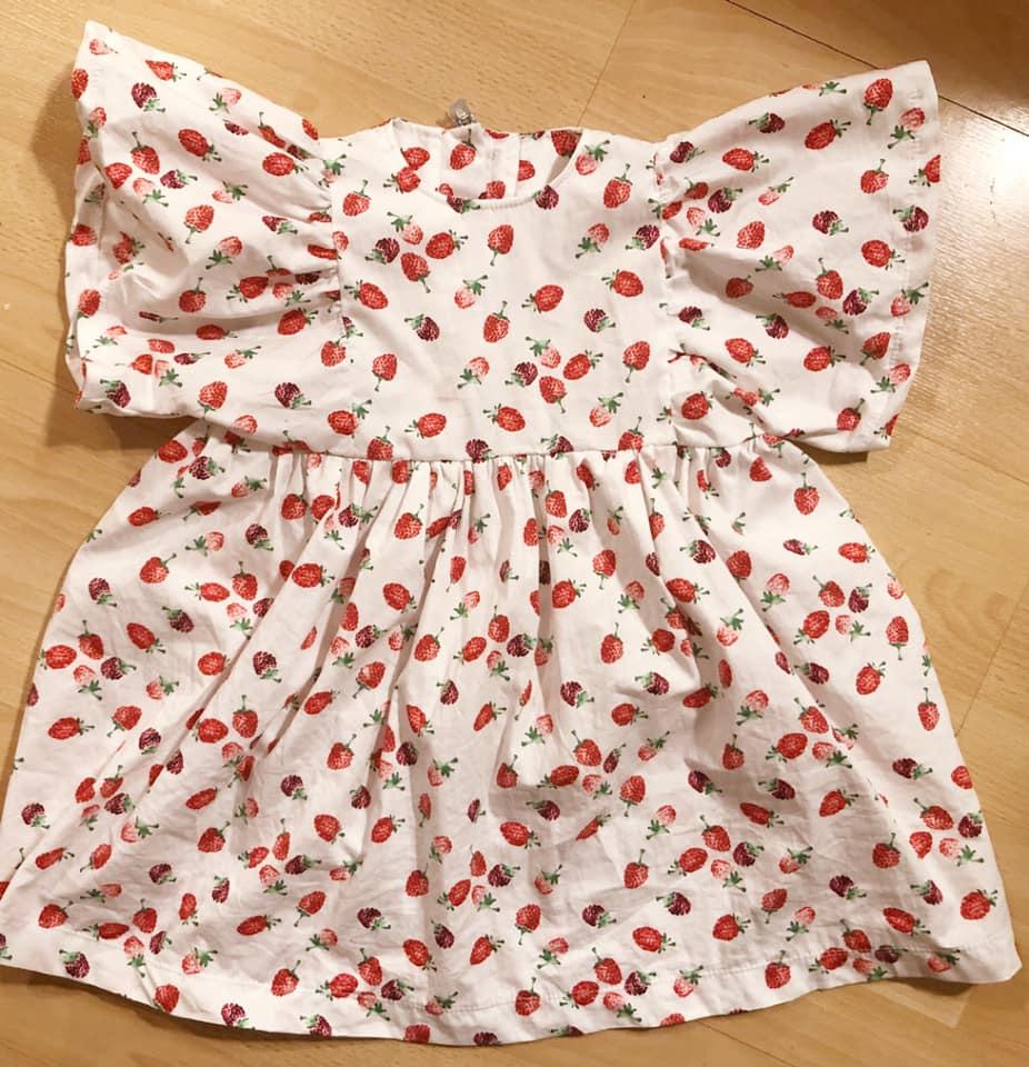 Kleid aus Webware Schnittmuster