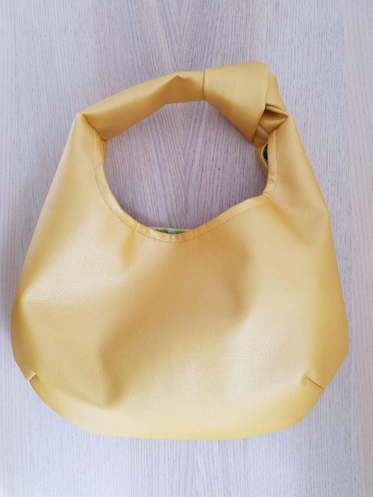 Tasche mit Knoten nähen