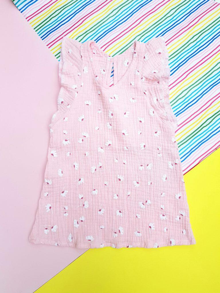 Musselin Kleid Schnittmuster