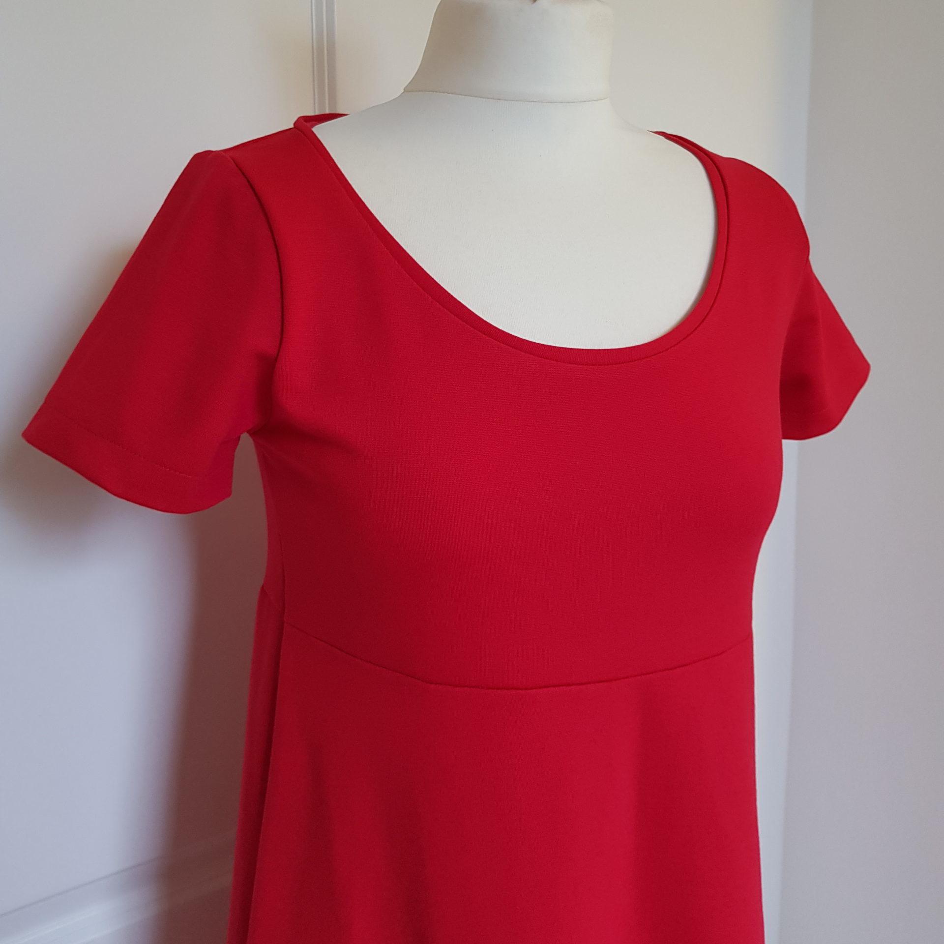 Jersey Kleid Schnittmuster kostenlos